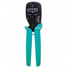 Клещи для обжима ProsKit CP-3006FD45 со сменными губками для клемм 0,05-6 кв.мм