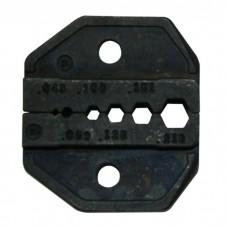 Сменная матрица для обжима коаксиальных кабелей типа SMA,SMB,SMC,MCX ProsKit CP-336DV