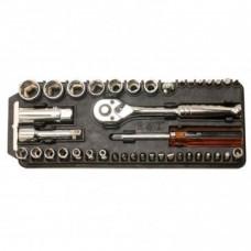 Набор торцевых головок и бит ProsKit 8PK-227 с трещоткой