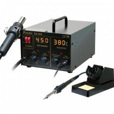 Многофункциональная цифровая термовоздушная паяльная станция ProsKit SS-989B