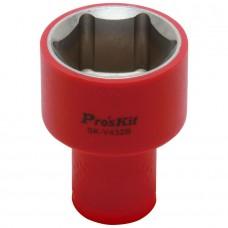 Изолированная 1/2 дюйма торцевая головка Proskit SK-V432B 32 мм (1000 В - VDE)