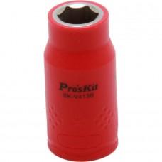 Изолированная 1/2 дюйма торцевая головка  Proskit SK-V413B 13 мм (1000 В - VDE)